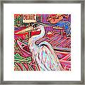 Swamp Boogie Framed Print by Robert Ponzio