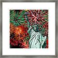The 4th Of July Framed Print by Anthony Sacco