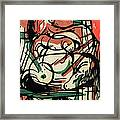 The Birth Of The Horse Framed Print by Franz Marc