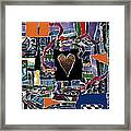 The Finish Line Framed Print by Kenneth James