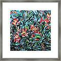 The Late Bloomers Framed Print by Xueling Zou