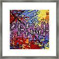 The Name Of God Framed Print by Anthony Falbo