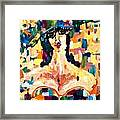 The Painted Lady Framed Print by Michelle Dommer