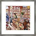 The Sweetshop Framed Print by Steve Crisp