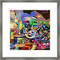 the Torah is aquired with awe 5 Framed Print by David Baruch Wolk