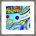 Time In Abstract 20130605 Long Framed Print by Wingsdomain Art and Photography