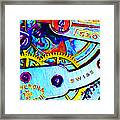 Time In Abstract 20130605 Framed Print by Wingsdomain Art and Photography