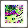 Time In Abstract 20130605m108 Framed Print by Wingsdomain Art and Photography
