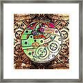 Time Machine 20130606 Square Framed Print by Wingsdomain Art and Photography