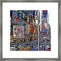 Time Square New York 20130430v2 Framed Print by Wingsdomain Art and Photography