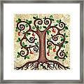 Tree Of Hearts Framed Print by Lisa Frances Judd