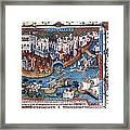 Venice. The Dock Of St. Mark Framed Print by Everett