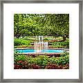 Verdant Garden Framed Print by Jeff Sinon