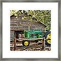 Vintage Framed Print by Kenny Francis