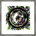 Visions Echo In The Crystal Ball Framed Print by Elizabeth McTaggart