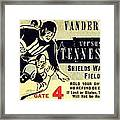 Volunteer State Rivalry Framed Print by Benjamin Yeager