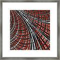 Warp Core Framed Print by John Edwards