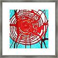 Web Of Life Original Painting Framed Print by Sol Luckman