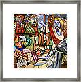Who Touched Me Framed Print by Anthony Falbo