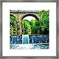 Wissahickon Falls Framed Print by Bill Cannon