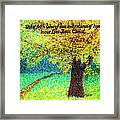 Work Of Faith Framed Print by Catherine Saldana