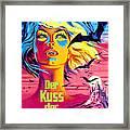 The Kiss Of The Vampire, Aka Kiss Of Framed Print by Everett