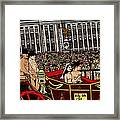 The Royal Nude Wedding Framed Print by Karen Elzinga