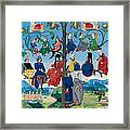 15th-century Family Tree Framed Print by Photo Researchers