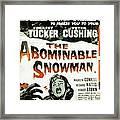 The Abominable Snowman, Aka The Framed Print by Everett