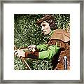 The Adventures Of Robin Hood, Errol Framed Print by Everett