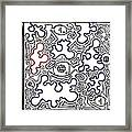 5 Eyes Of Thought Framed Print by Gabriel Garrod