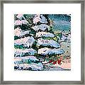 A Winter Feast Framed Print by Mindy Newman