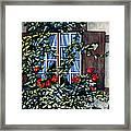 Alsace Window Framed Print by Scott Nelson