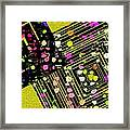Angle Lines And Squares Framed Print by Mario Perez