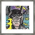 B-man Framed Print by Jera Sky