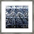 Blue Reflection Framed Print by Chavalit Kamolthamanon