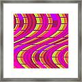 Bold Swirl  Framed Print by Louisa Knight