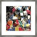 Buoys Framed Print by Kevin Brant