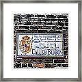 Calle D Borbon Framed Print by Bill Cannon
