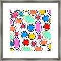 Candy Spots Framed Print by Louisa Knight