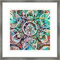 Circles Of Life Framed Print by Mo T