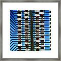 Circuit Used In Testing Microchip Functions Framed Print by Chris Knapton