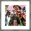 Cuenca Kids 103 Framed Print by Al Bourassa