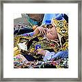 Cuenca Kids 169 Framed Print by Al Bourassa
