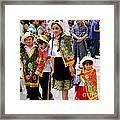 Cuenca Kids 80 Framed Print by Al Bourassa
