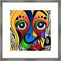 Cyborg Framed Print by Artzilla Ink