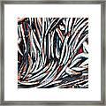 Dripping Fish Framed Print by Maria Luisa Corapi