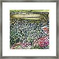 English Garden Framed Print by Mindy Newman