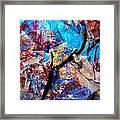 Found Art Studio Rag Framed Print by John  Nolan