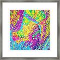 Funky Stilettos  Stained Framed Print by Kenal Louis